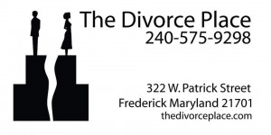 The Divorce Place Signage